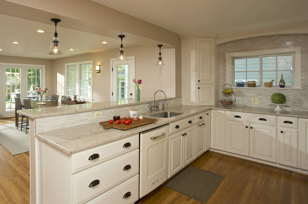 Kitchen remodeled by Merrill Contracting & Remodeling