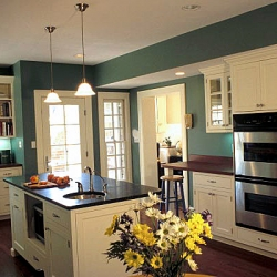 Kitchen remodeling with island