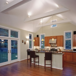 Open kitchen remodeling design