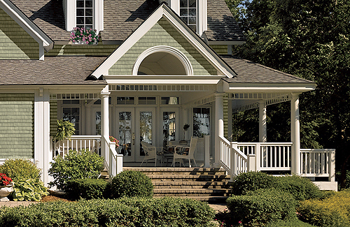 Low maintenance exterior remodeling