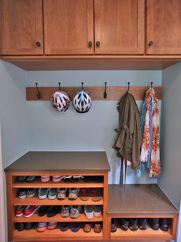Mudroom by Merrill Contractin