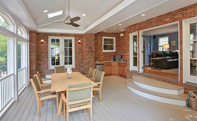 Sunroom by Merrill Contracting