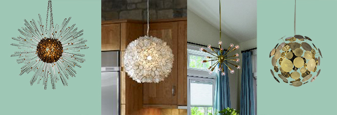 Mid-century modern light fixtures