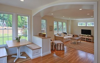 Remodeled Family Room Arlington