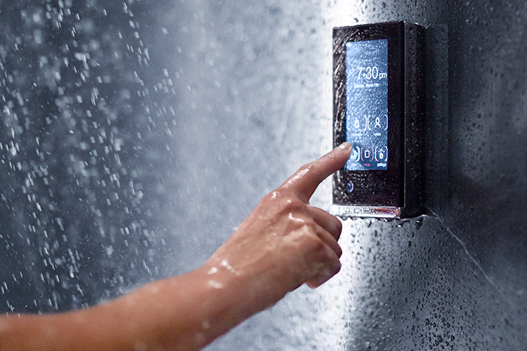 Smart home shower system