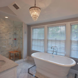 soaking tub bathroom remodel fairfax virginia