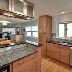 remodeled custom kitchen