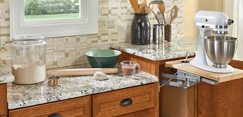 Marble counter material