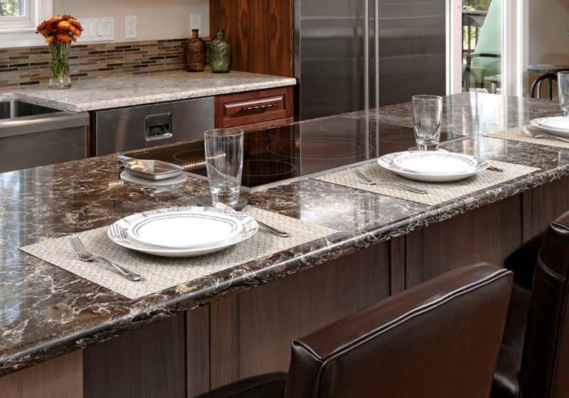 Granite counter material