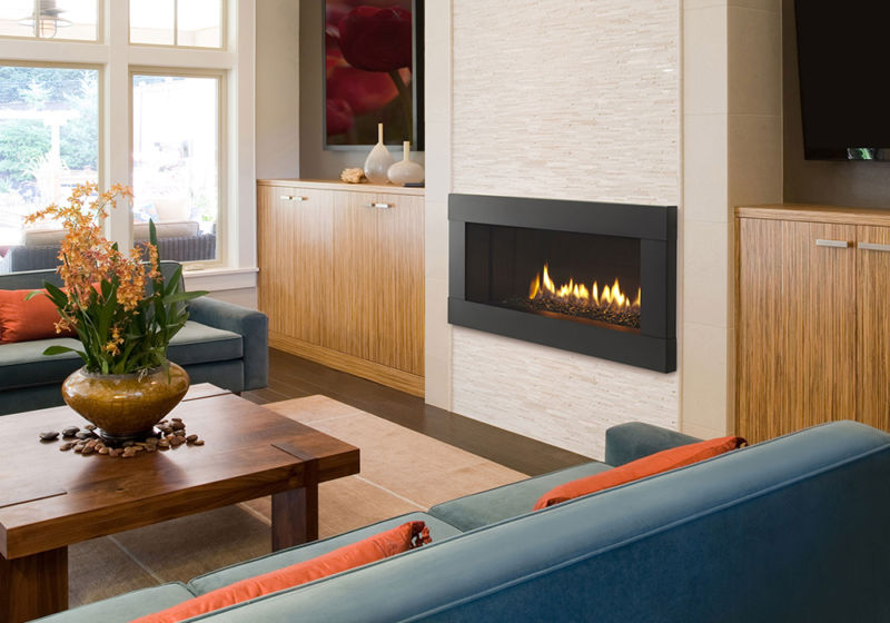 Gas fireplace idea