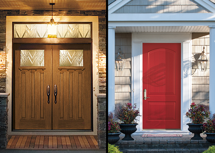 Front doors for curb appeal