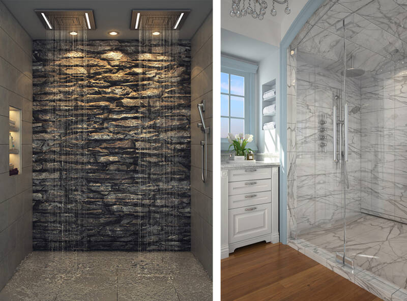 Accessible walk-in showers