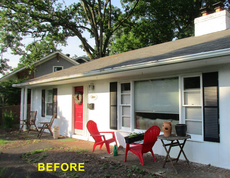 BEFORE: Whole House Remodel with Second Floor Addition
